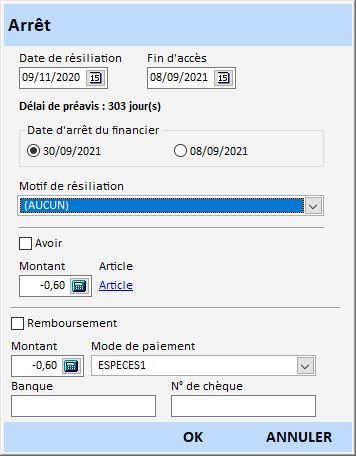 Acces Gestion Clientele V12